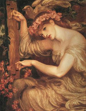 Sea Spell   Dante Gabrie Rossetti   Oil Painting