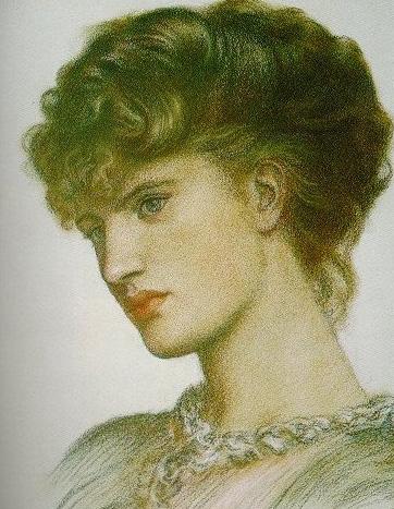 Portrait of a Lady   Dante Gabriel Rossetti   Oil Painting