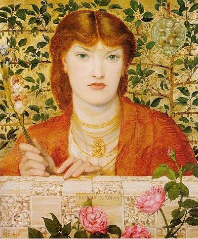 Regina Cordium 1866   Dante Gabriel Rossetti   Oil Painting