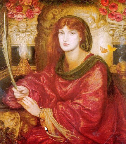 Sybilla Palmifera 1866 1870   Dante Gabriel Rossetti   Oil Painting