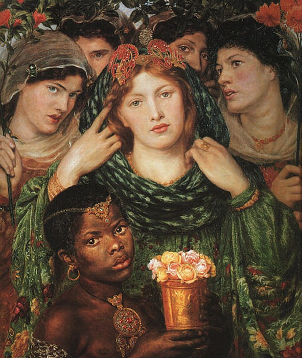 The Beloved (aka The Bride) 1865 1866   Dante Gabriel Rossetti   Oil Painting