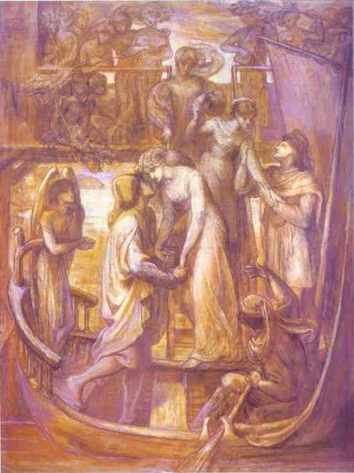 The Boat of Love 1874 | Dante Gabriel Rossetti | Oil Painting