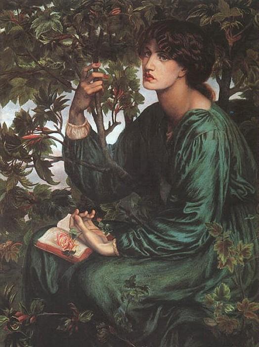 The Day Dream 1880 | Dante Gabriel Rossetti | Oil Painting
