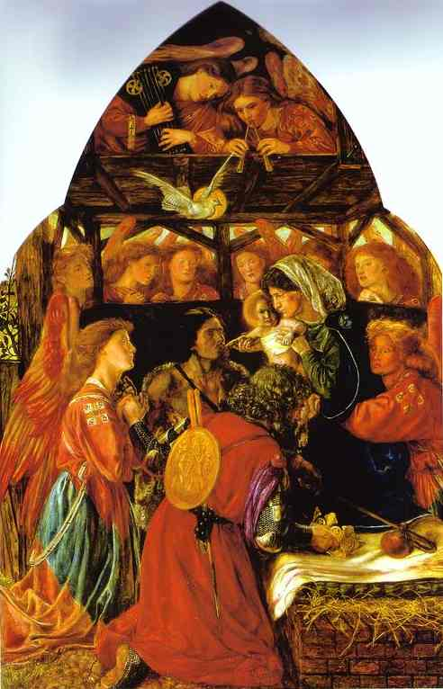 The Seed of David 1858 1864 | Dante Gabriel Rossetti | Oil Painting