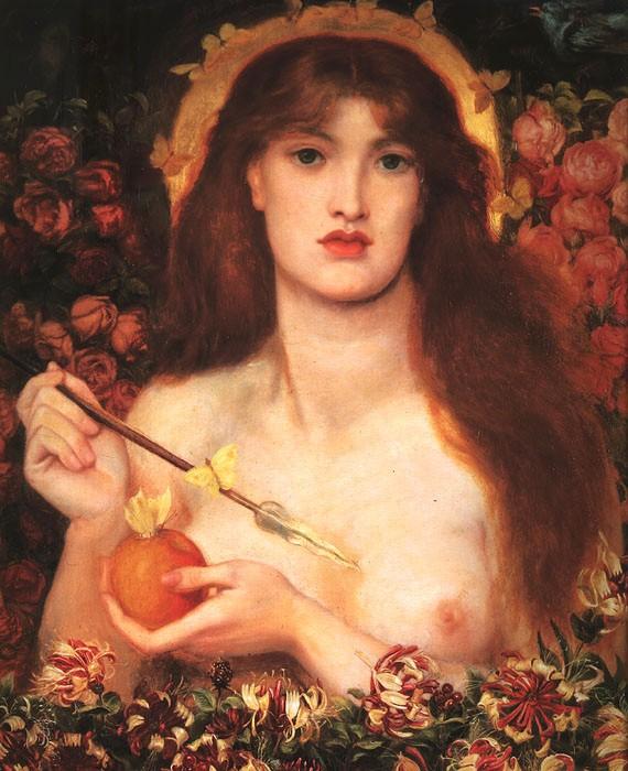 Venus Verticordia 1864 1868 | Dante Gabriel Rossetti | Oil Painting
