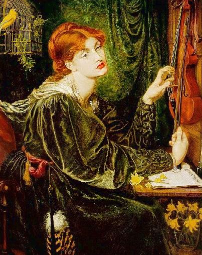 Veronica Veronese 1870 1872 | Dante Gabriel Rossetti | Oil Painting