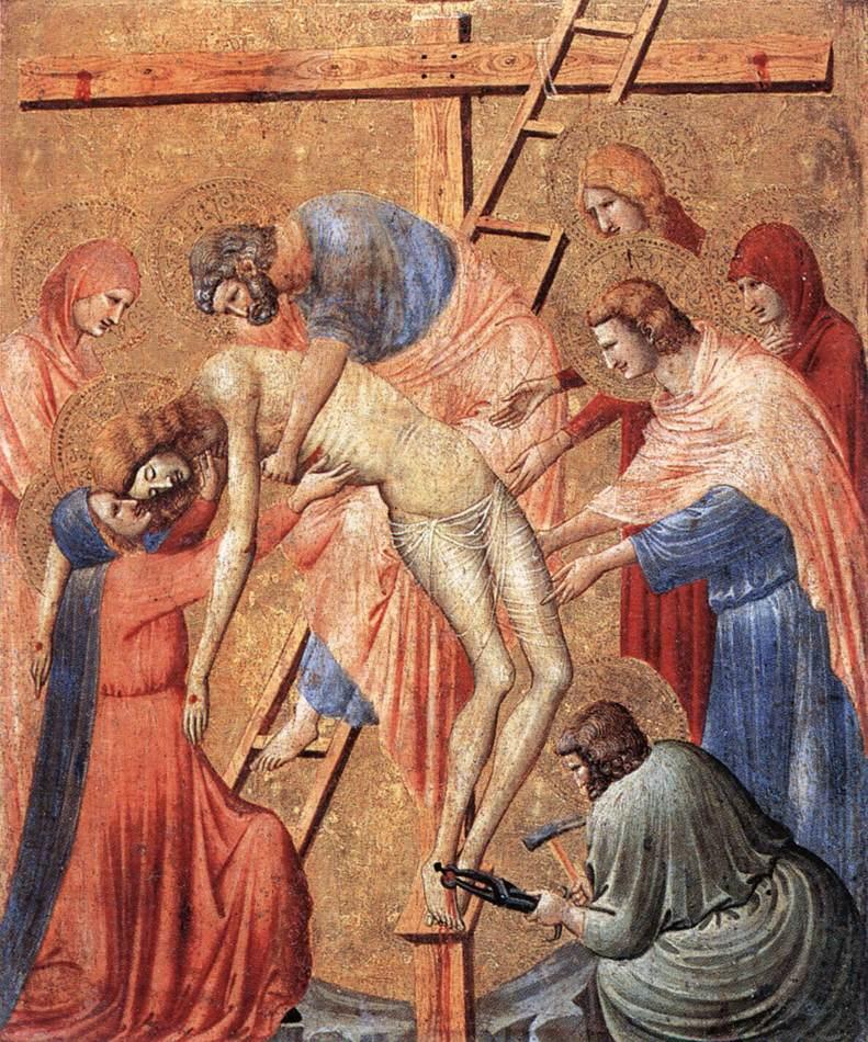 Deposition From the Cross 1330s | Da Rimini Pietro | Oil Painting