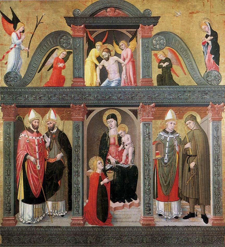 St Lucy Altarpiece (Pala Di S Lucia) 1500 | Da Tolmezzo Domenico | Oil Painting