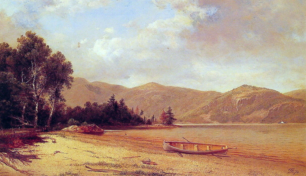 View of Dresden Lake George | David Johnson | Oil Painting