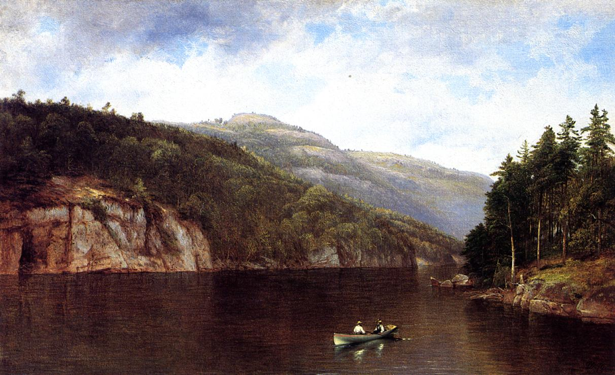 Boating on Lake George  1870 | David Johnson | Oil Painting
