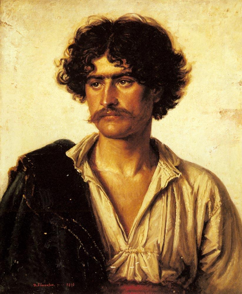 Portrait Of A Man | David Simonson | Oil Painting