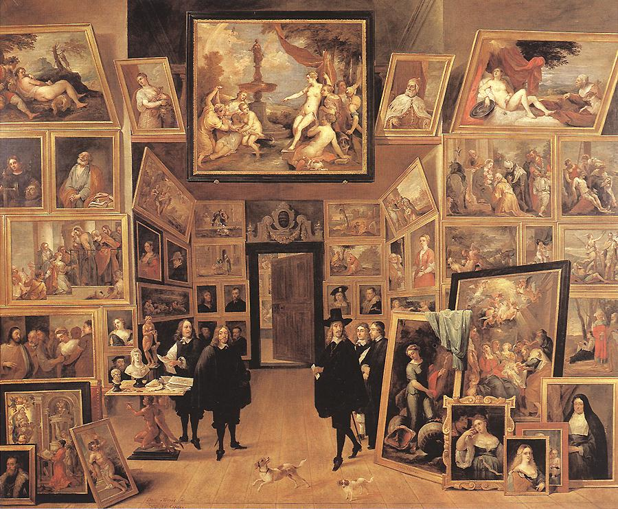 Archduke Leopold Wilhelm In His Gallery 1647 | David The Younger Teniers | Oil Painting