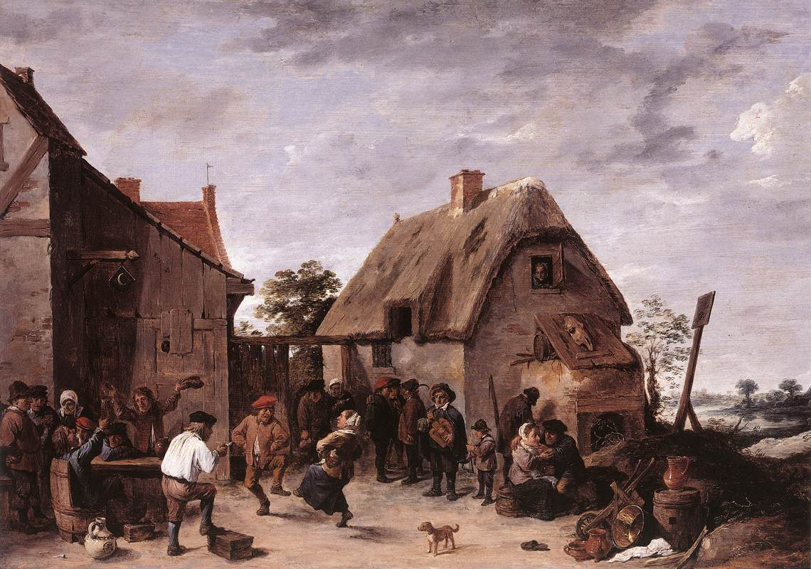 Flemish Kermess 1640 | David The Younger Teniers | Oil Painting
