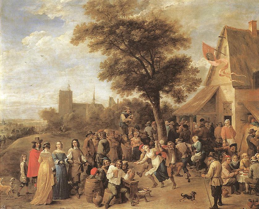 Peasants Merry Making 1650 | David The Younger Teniers | Oil Painting