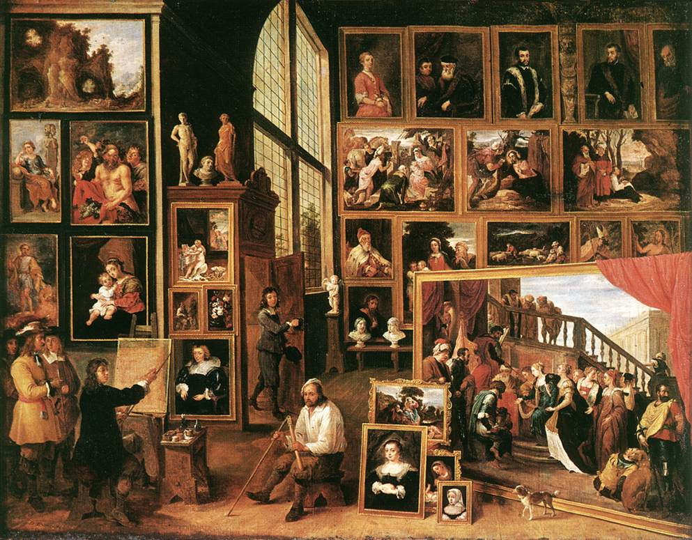 The Gallery Of Archduke Leopold In Brussels 1639 | David The Younger Teniers | Oil Painting