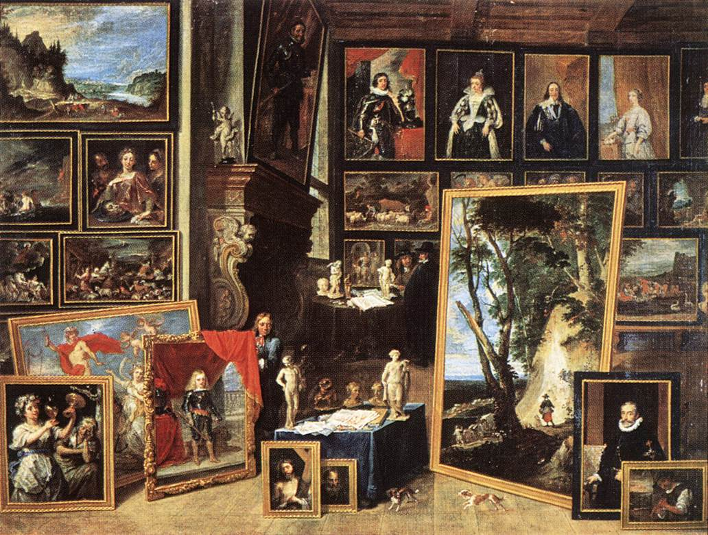 The Gallery Of Archduke Leopold In Brussels 1641 | David The Younger Teniers | Oil Painting
