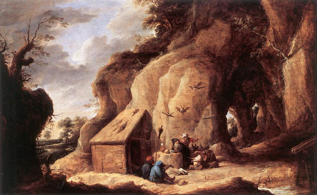 The Temptation Of St Anthony After 1640 | David The Younger Teniers | Oil Painting