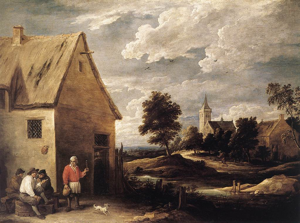 Village Scene | David The Younger Teniers | Oil Painting