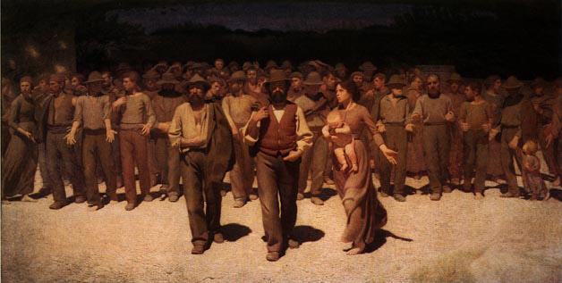 Il Quarto Stato | Da Volpedo Giuseppe Pellizza | Oil Painting