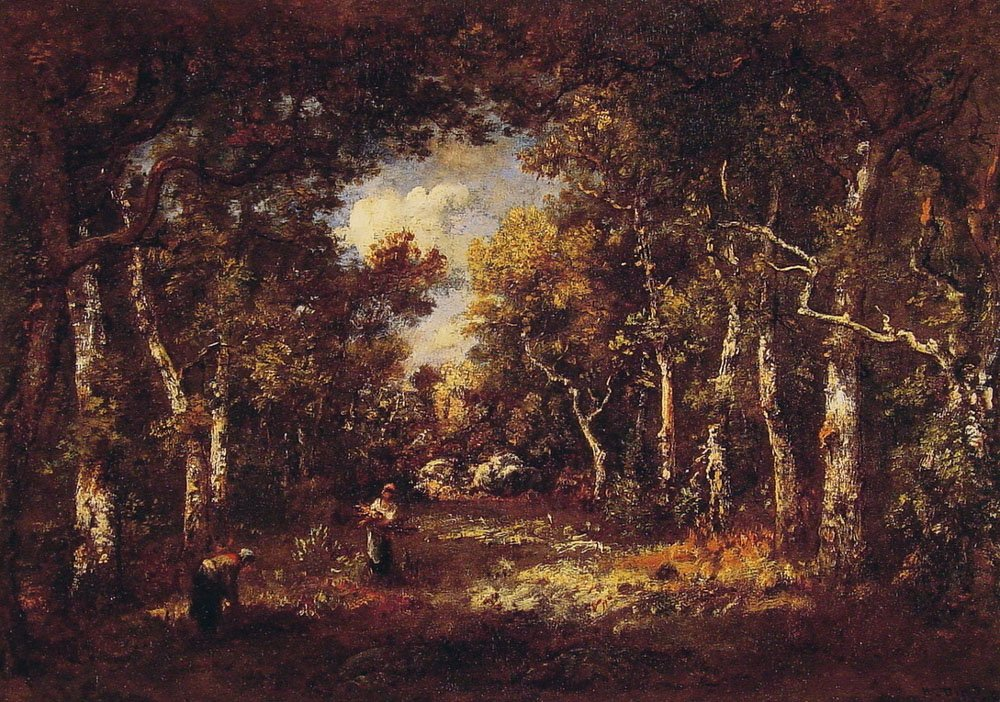 The Forest of Fontainebleau | De La Pena Narcisse Virgile Diaz | Oil Painting