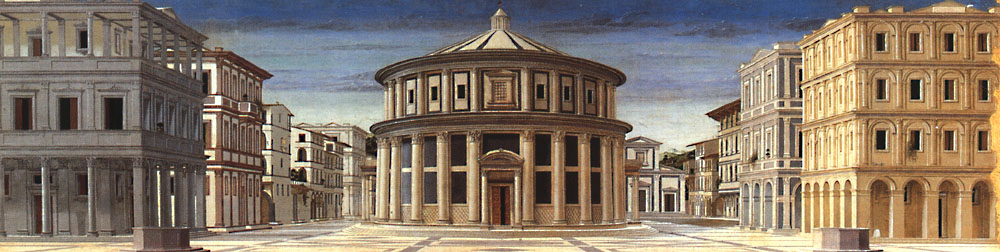 Ideal City 1470 | Della Francesca Piero | Oil Painting