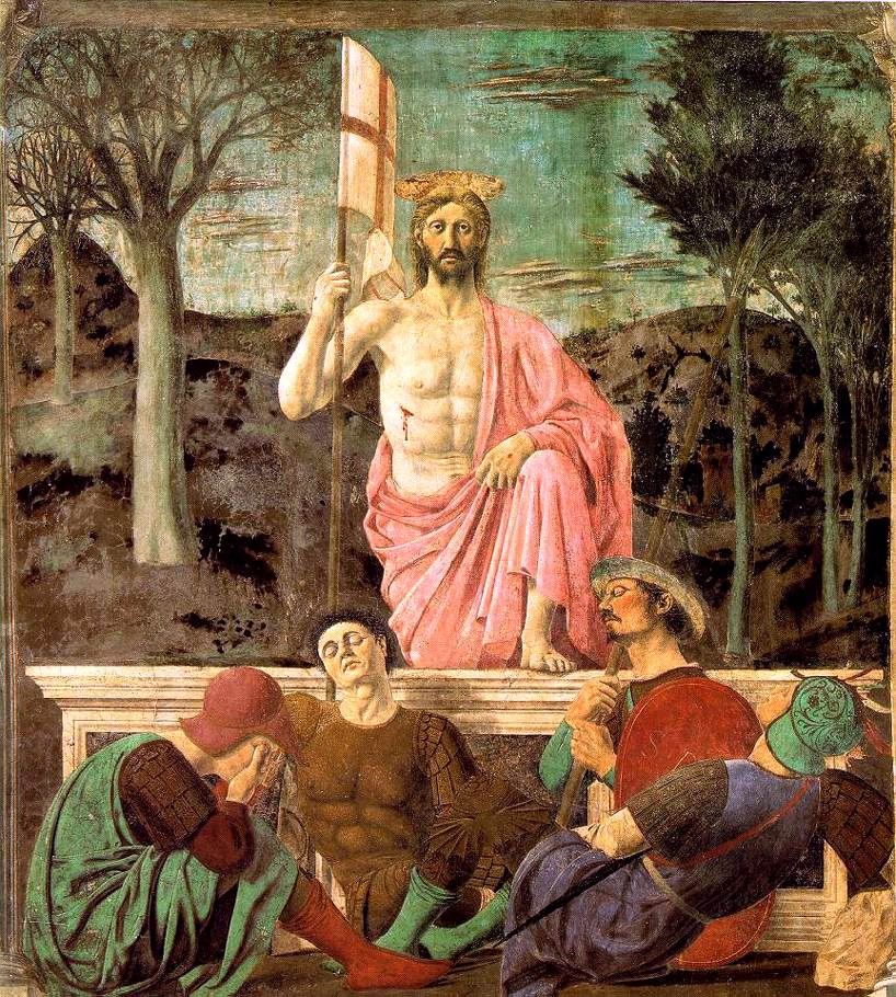 Resurrection 1463-65 | Della Francesca Piero | Oil Painting