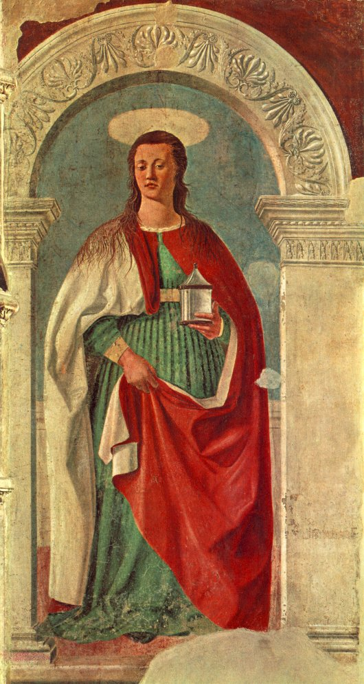 Saint Mary Magdalen 1460 | Della Francesca Piero | Oil Painting