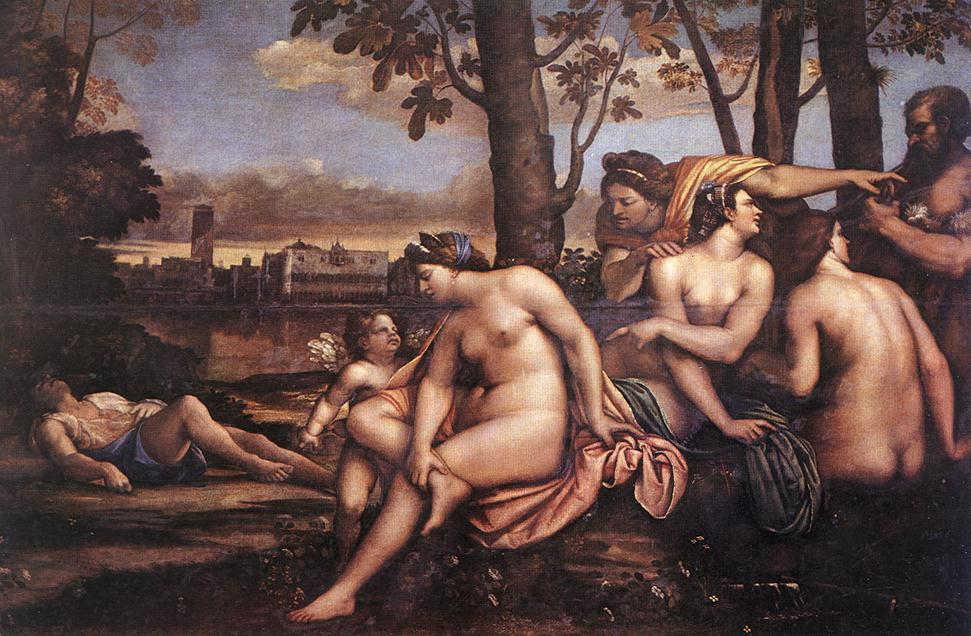 Death Of Adonis 1511-12 | Del Piombo Sebastiano | Oil Painting