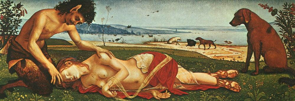 The Death Of Procris 1500 | Di Cosimo Piero | Oil Painting
