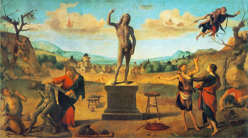 The Myth Of Prometheus 1515 | Di Cosimo Piero | Oil Painting