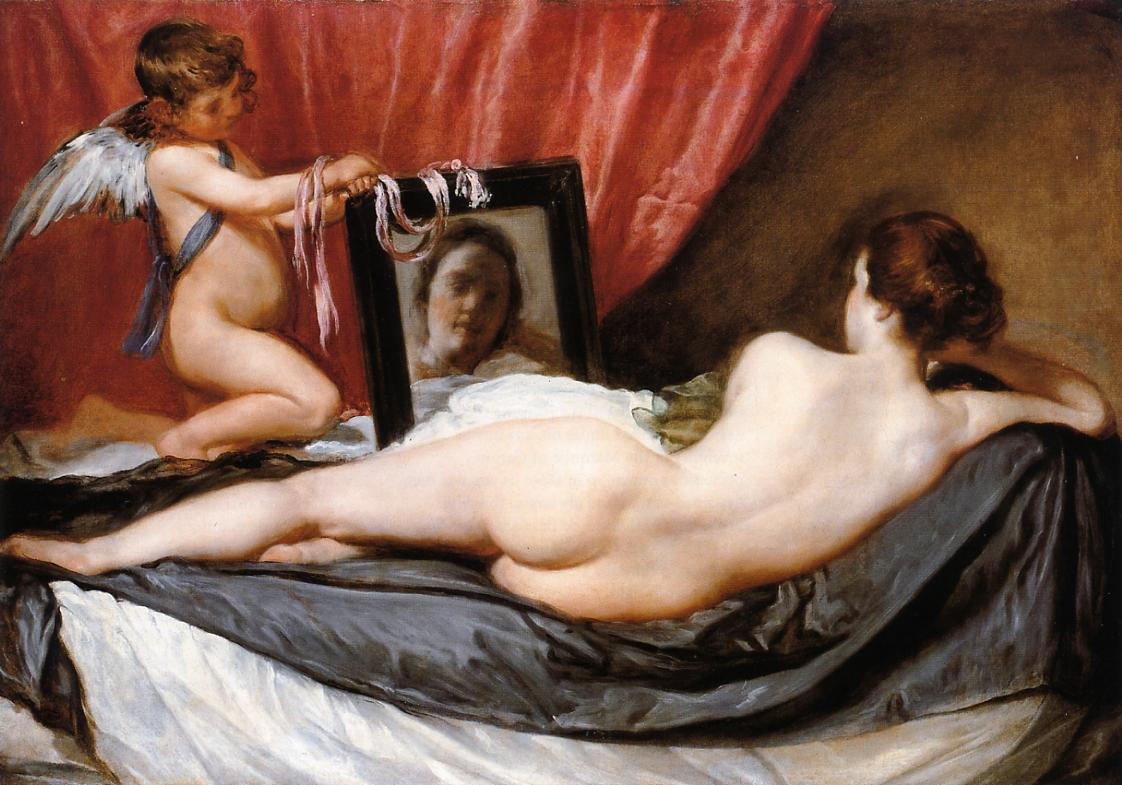 A Venus at Her Mirror 1644 1648 | Diego Velazquez | Oil Painting