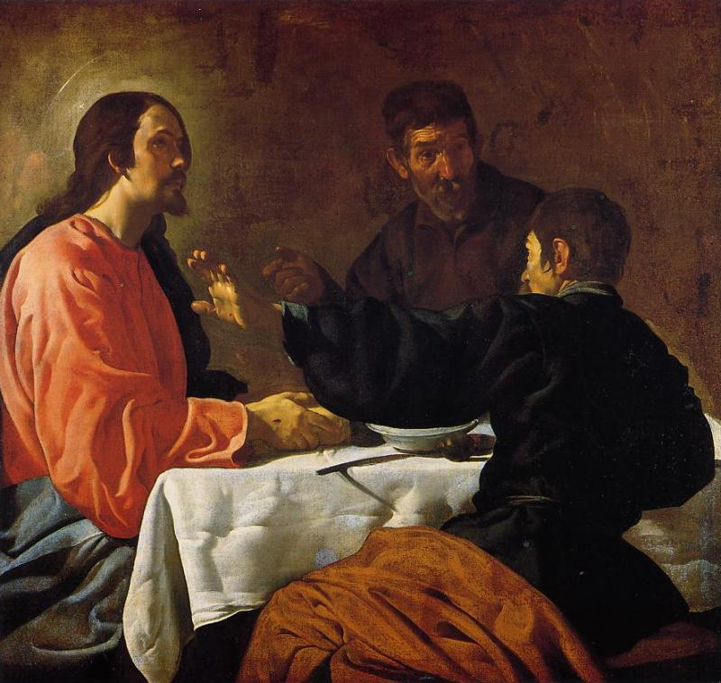 The Supper at Emmaus 1622 1623 | Diego Velazquez | Oil Painting