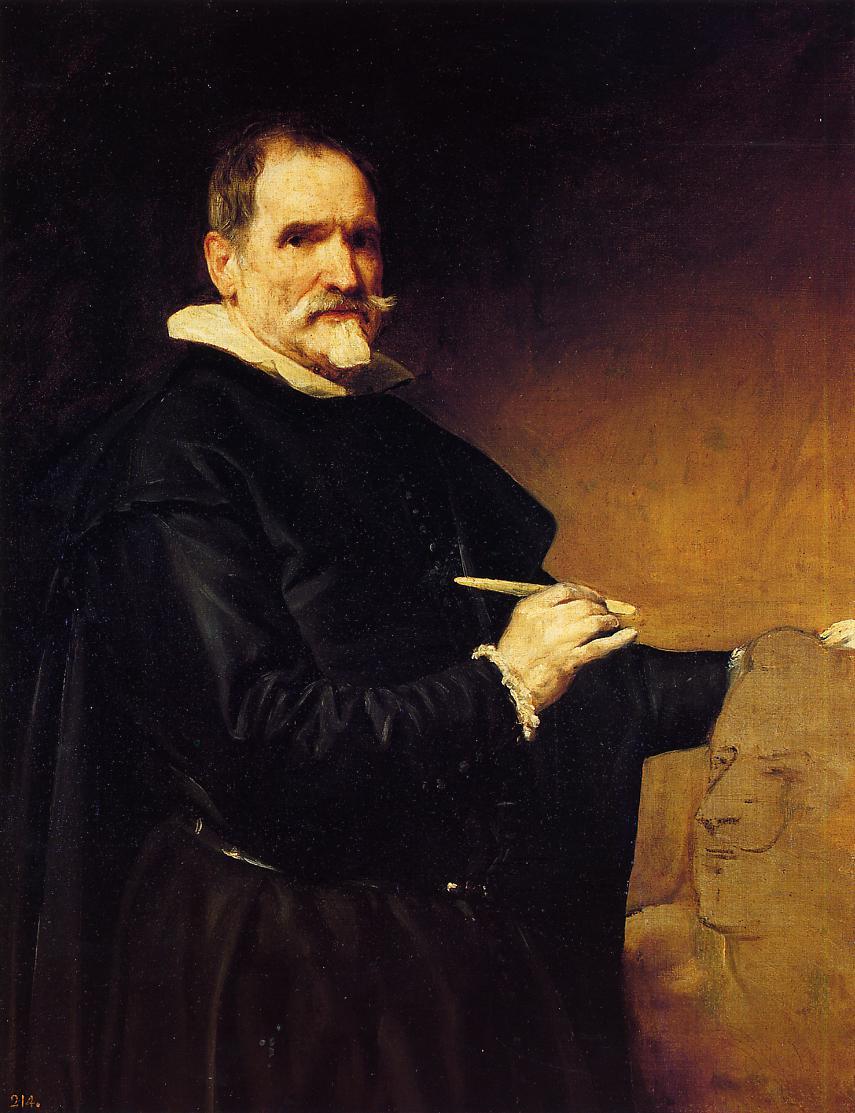 The Sculptor Martinez Montanes 1635 1636   Diego Velazquez   Oil Painting