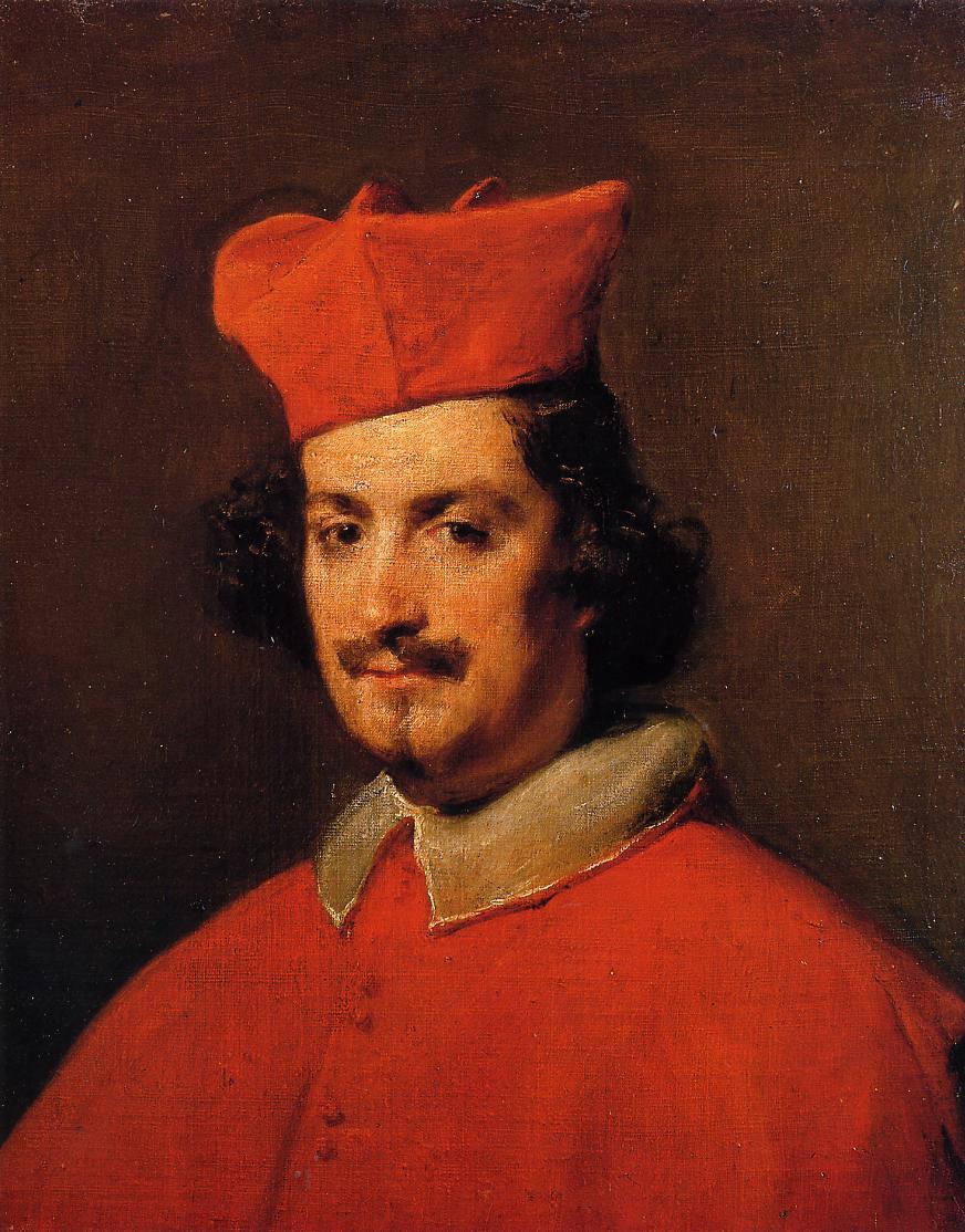 Cardinal Camillo Astalli 1650 1651 | Diego Velazquez | Oil Painting