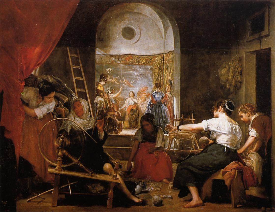 The Fable of Archne (aka The Spinners) 1644 1648 | Diego Velazquez | Oil Painting