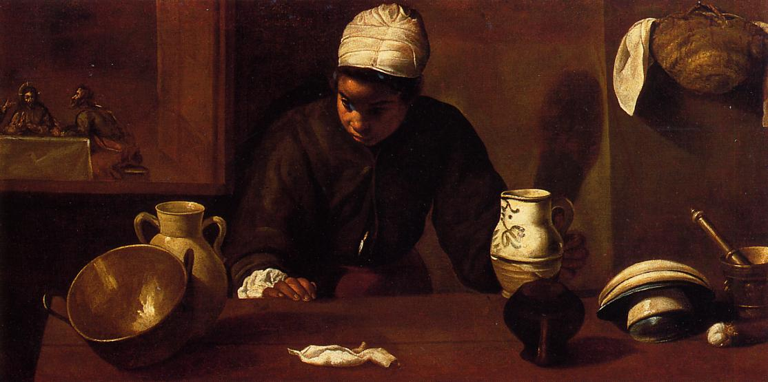 The Supper at Emmaus 1620 | Diego Velazquez | Oil Painting