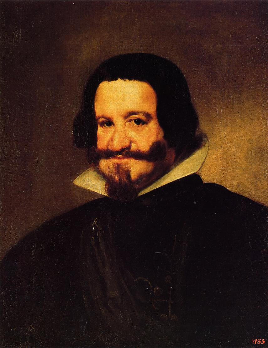 Count duke of Olivares 1638 | Diego Velazquez | Oil Painting