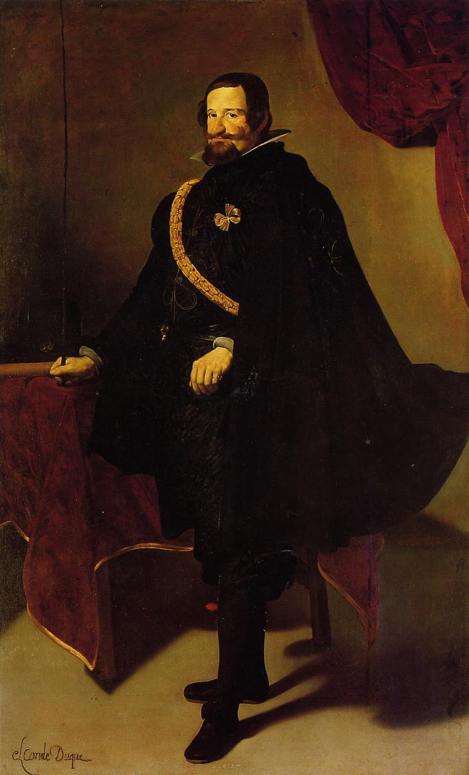 Don Gaspar de Guzman Count of Olivares and Duke of San Lucar la Mayor 1622 1627 | Diego Velazquez | Oil Painting
