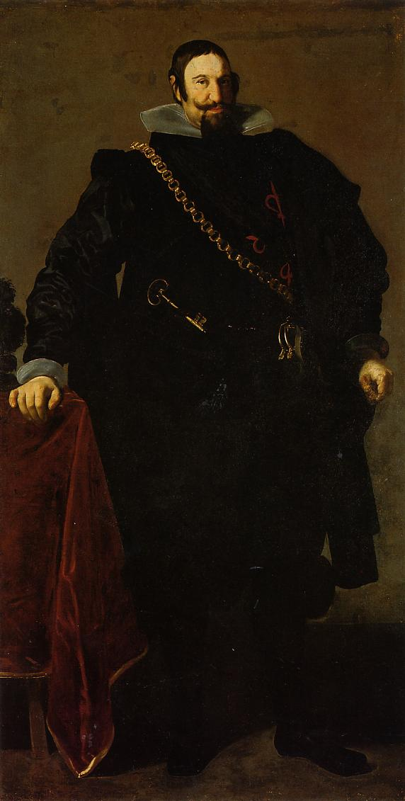Don Gaspar de Guzman Count of Oliveres and Duke of San Lucar la Mayor 1624 | Diego Velazquez | Oil Painting