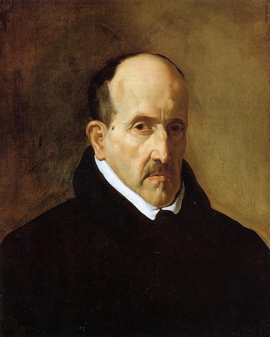 Don Luis de Gongora y Argote 1622 | Diego Velazquez | Oil Painting