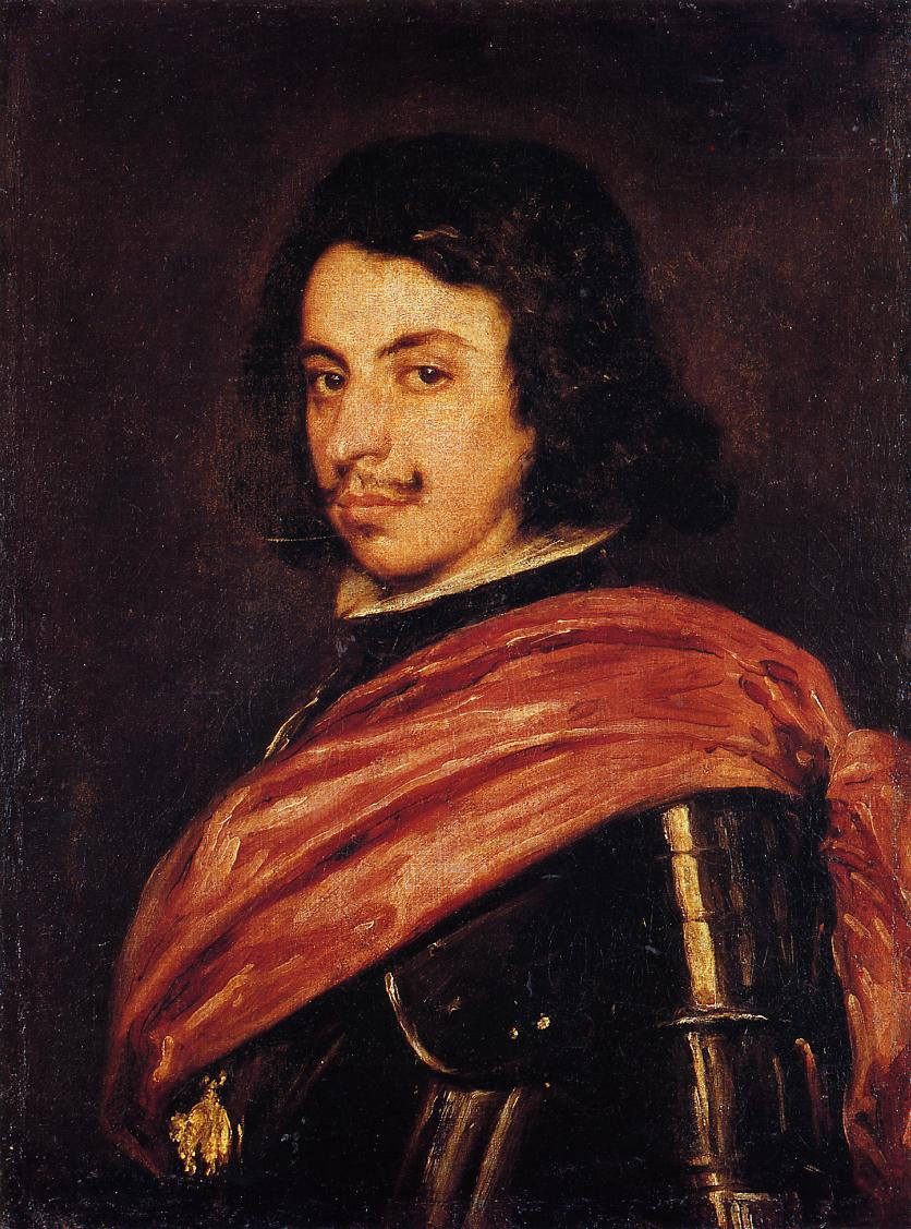 Francesco II d'Este Duke of Modena 1638 | Diego Velazquez | Oil Painting