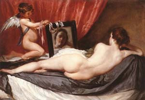Venus in Front of the Mirror | Diego Velazquez | Oil Painting