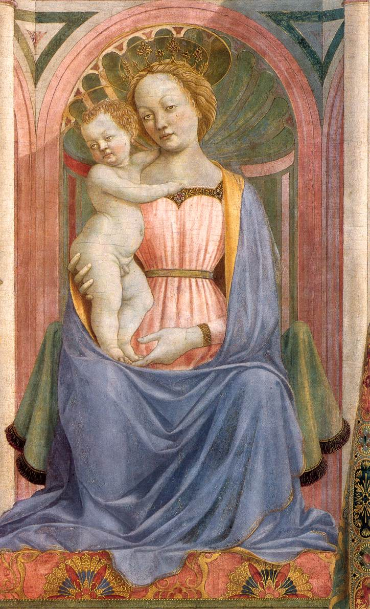 The Madonna And Child With Saints (Detail) 1 1445 | Di Michelino Domenico | Oil Painting