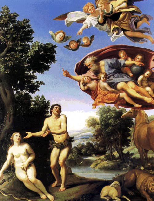 Adam And Eve 1623-25 | Domenichino | Oil Painting