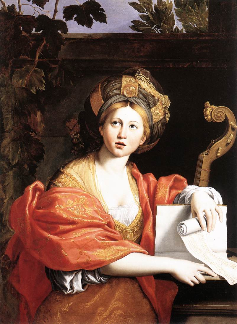 A Sibyl 1616-17 | Domenichino | Oil Painting