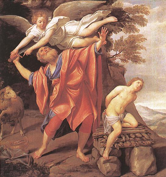 The Sacrifice Of Isaac | Domenichino | Oil Painting