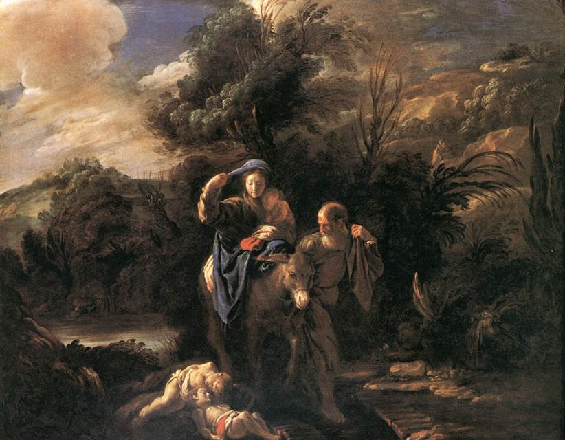 Flight To Egypt 1621-23 | Domenico Feti | Oil Painting