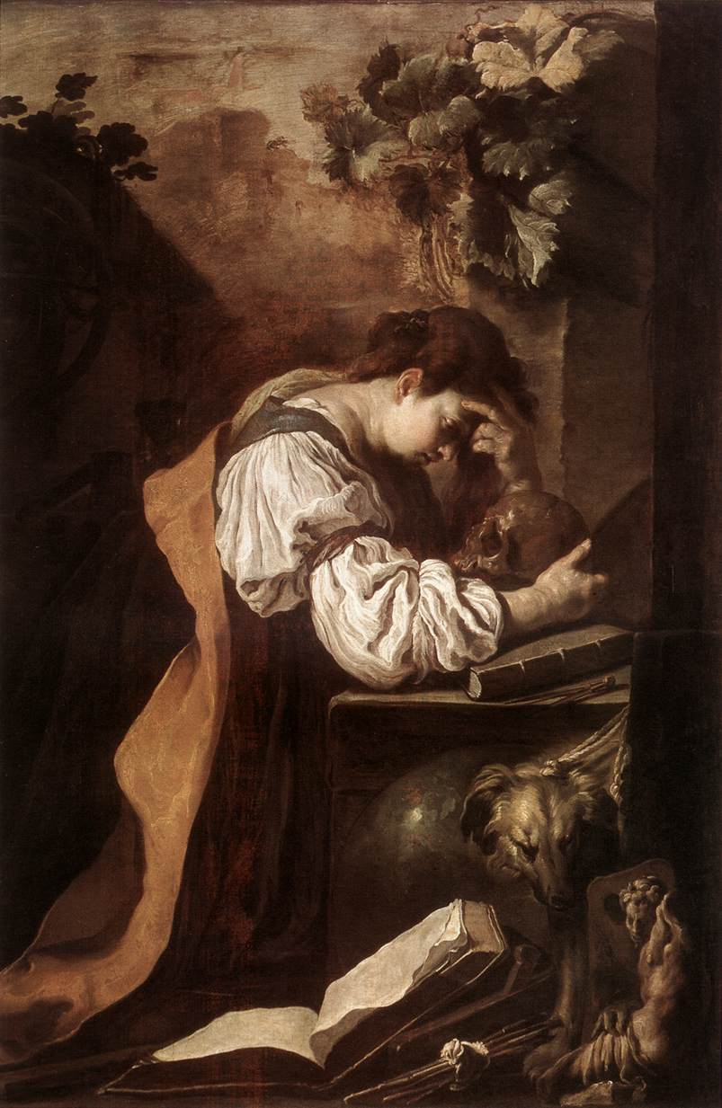 Melancholy 1622 | Domenico Feti | Oil Painting