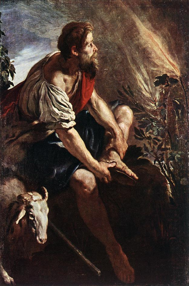 Moses Before The Burning Bush 1613-14 | Domenico Feti | Oil Painting