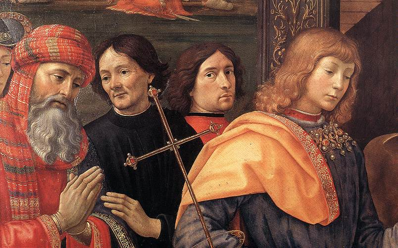 Adoration Of The Magi (Detail) 1488 | Domenico Ghirlandaio | Oil Painting